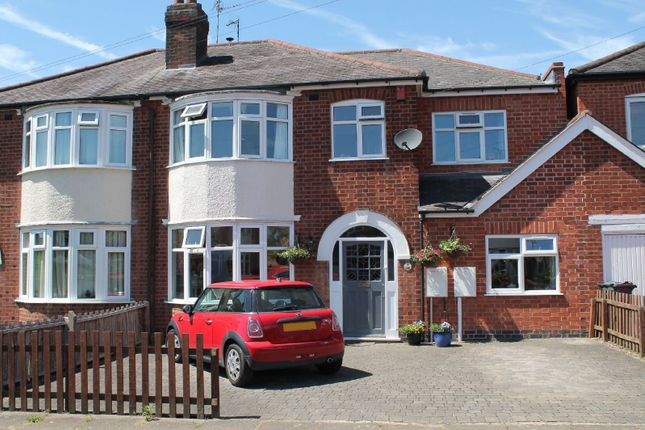Thumbnail Semi-detached house for sale in Brinsmead Road, Knighton, Leicester