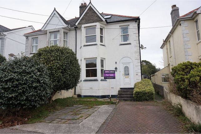 4 bed semi-detached house for sale in Trelawney Road, St. Austell