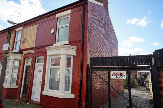 Thumbnail End terrace house for sale in Victor Street, Liverpool