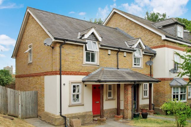 Thumbnail End terrace house to rent in Church Paddock Court, Wallington