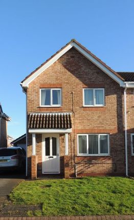 Thumbnail Semi-detached house to rent in Hill Crest Drive, Beverley
