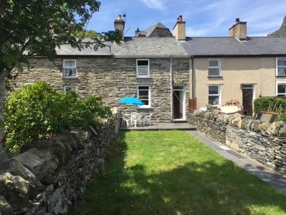 Thumbnail Terraced house for sale in West End, Tanygrisiau, Blaenau Ffestiniog, Gwynedd