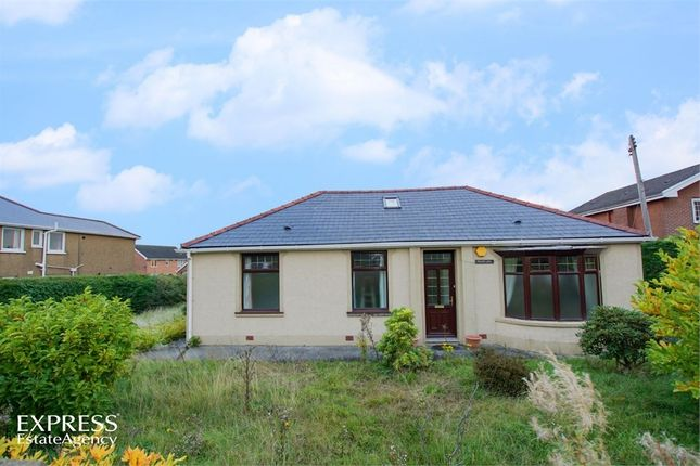 Thumbnail Detached bungalow for sale in Hirwaun Road, Hirwaun, Aberdare, Mid Glamorgan