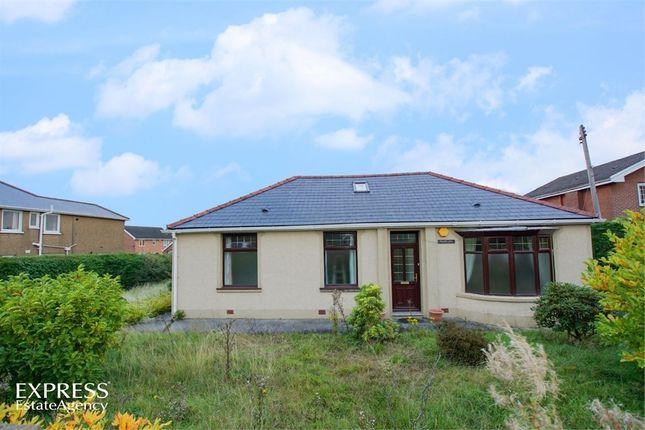 Thumbnail Detached bungalow for sale in Hirwaun Road, Hirwaun, Aberdare, Mid Glamorgan