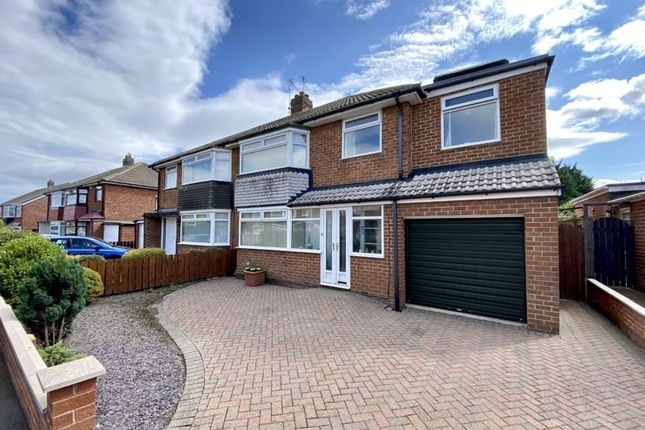 Thumbnail Semi-detached house for sale in Torwell Drive, Fairfield, Stockton