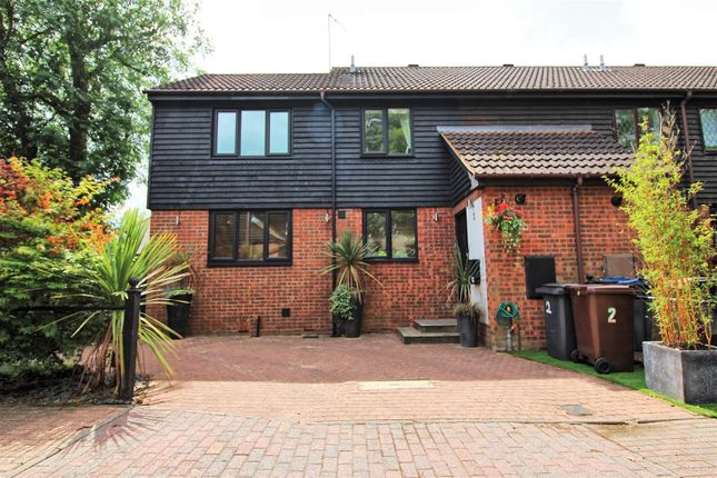 Thumbnail End terrace house for sale in Ermine Court, Church Street, Buntingford