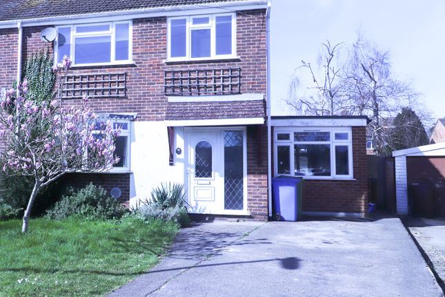 Thumbnail Semi-detached house to rent in Anglesey Avenue, Farnborough