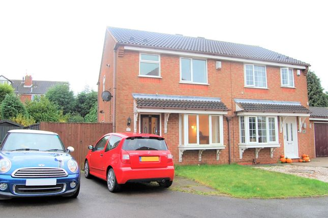 Thumbnail Semi-detached house to rent in Denbigh Close, Dudley