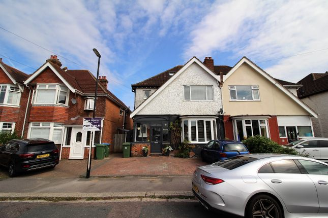 Thumbnail Semi-detached house for sale in Charlton Road, Shirley, Southampton