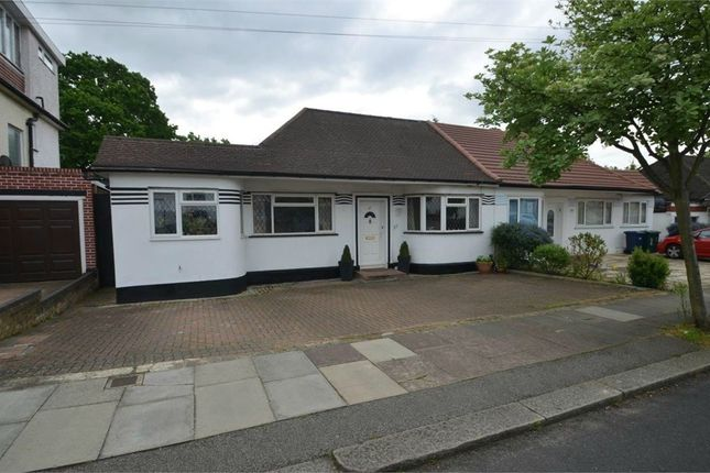 Thumbnail Semi-detached bungalow for sale in Highview Gardens, Edgware, Middlesex