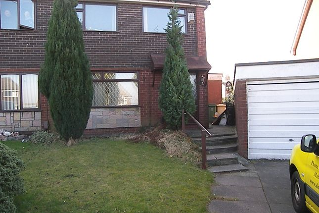 Thumbnail Semi-detached house to rent in Malvern Close, Farnworth