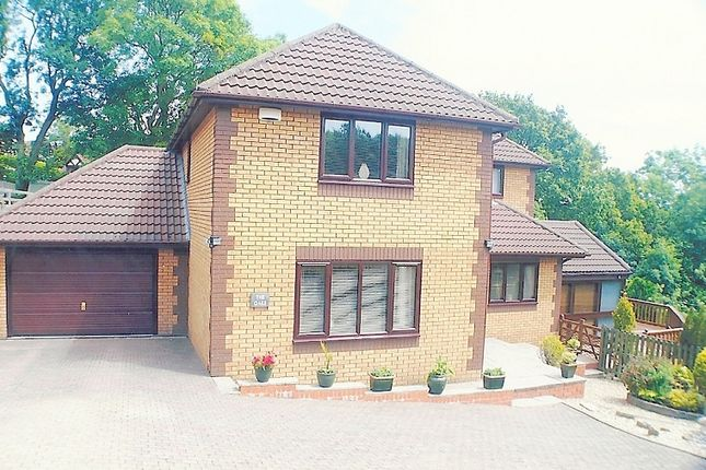 Thumbnail Detached house for sale in Fenwick Drive, Brackla, Bridgend.