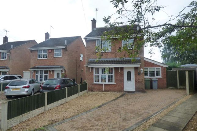 Thumbnail Detached house for sale in Derwent Close, Rainworth, Mansfield