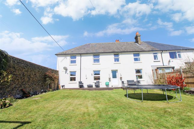 Thumbnail End terrace house for sale in Otterham Quay Lane, Rainham, Gillingham