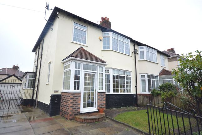 Thumbnail Semi-detached house for sale in Childwall Priory Road, Childwall, Liverpool