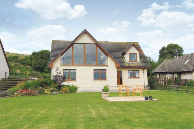 Thumbnail Detached house for sale in An Teallach, Newhall Point, Balblair, Dingwall