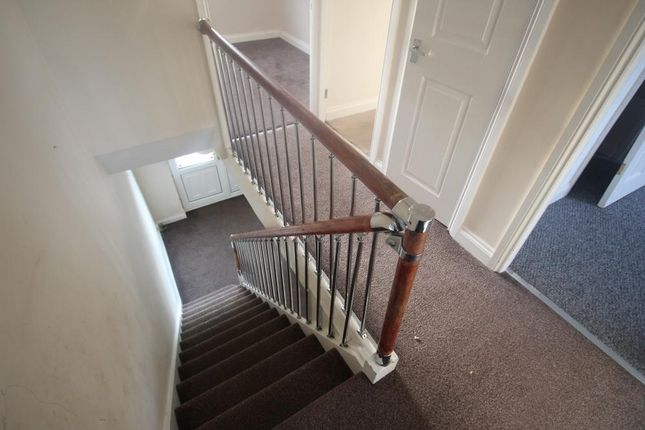 Landing of Lindley Crescent, Thurnscoe, Rotherham S63