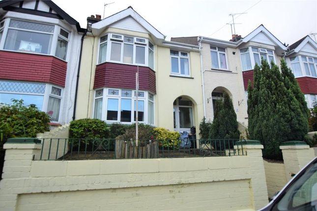 Thumbnail Terraced house to rent in Clifton Grove, Paignton, Devon