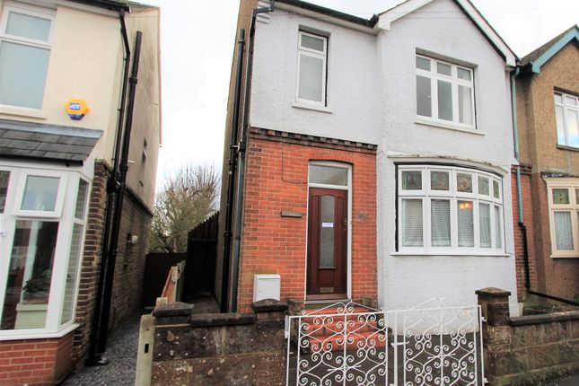 Semi-detached house for sale in First Avenue, Gillingham