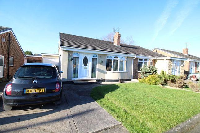 Thumbnail Semi-detached bungalow for sale in Wooler Walk, Monkton Village, Jarrow