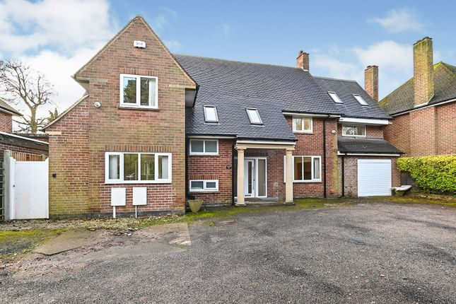 Thumbnail Detached house for sale in Burton Road, Littleover, Derby