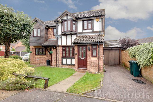 Thumbnail Semi-detached house for sale in Ewan Road, Harold Wood