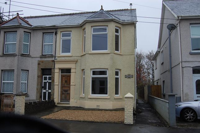 Thumbnail Semi-detached house to rent in Walter Road, Ammanford