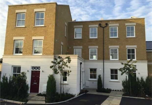 Thumbnail End terrace house for sale in Orchard Place, Windmill Road, Brentford, Middlesex