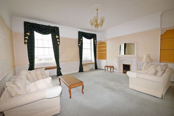 Drawing Room of Fortfield Terrace, Sidmouth EX10
