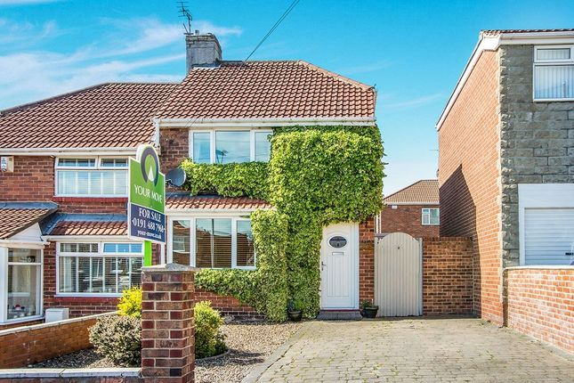 Thumbnail Semi-detached house to rent in Cragside Gardens, Lobley Hill, Gateshead