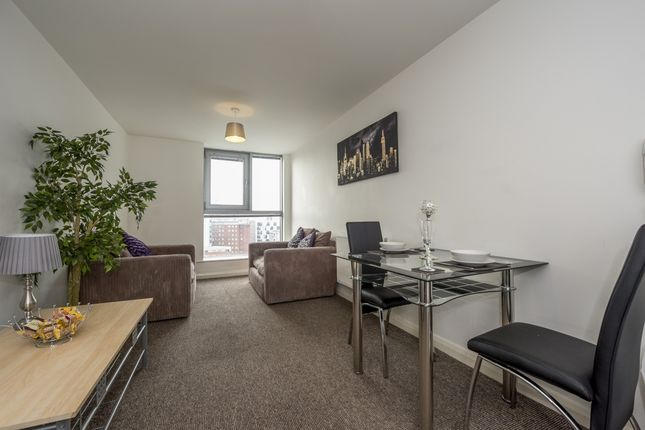 Serviced flat for sale in Lace Street, Liverpool City Centre