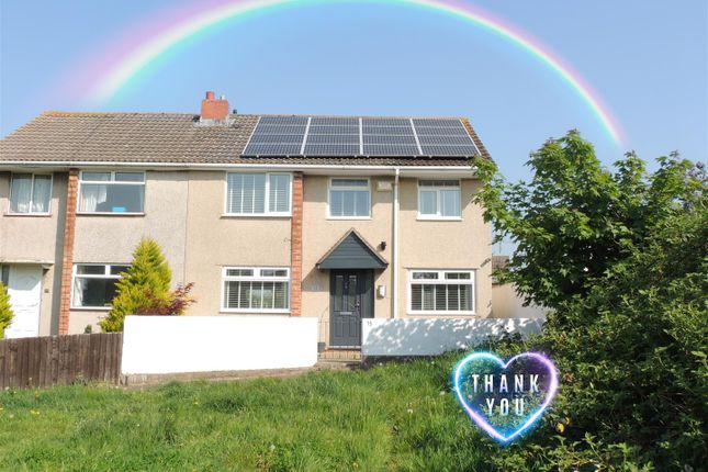 Thumbnail Semi-detached house for sale in Fairway Close, Oldland Common, Bristol