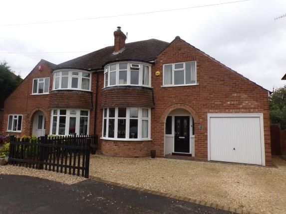 Thumbnail Semi-detached house for sale in Highfield Road, Stratford-Upon-Avon