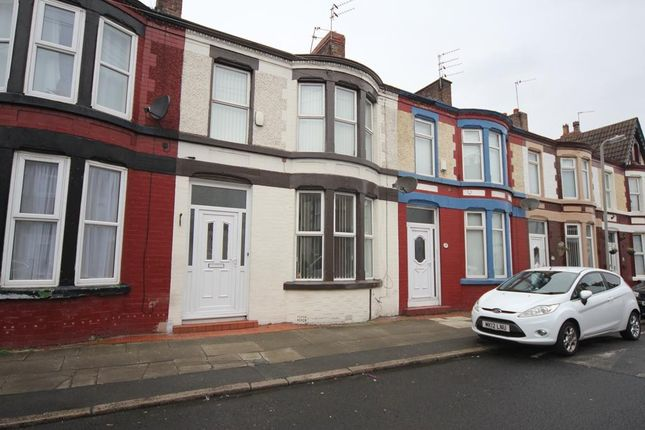 Thumbnail Terraced house to rent in Orleans Road, Old Swan, Liverpool