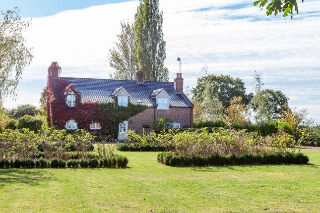 Thumbnail Farmhouse for sale in Ilketshall St. Margaret, Bungay