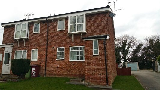 Thumbnail Flat for sale in Springfield Close, Eckington
