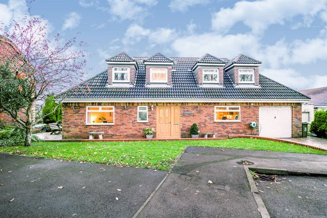 Thumbnail Detached bungalow for sale in Fairways, North Cornelly, Bridgend