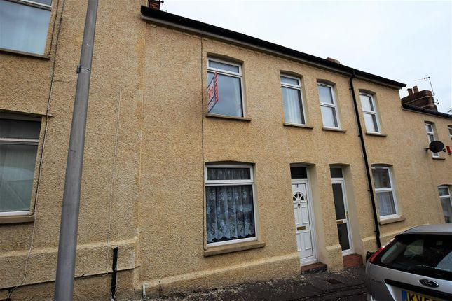 Thumbnail Terraced house for sale in Morgan Street, Barry