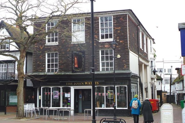 Thumbnail Commercial property for sale in Former John Wallis Pub, Middle Row, Ashford, Kent