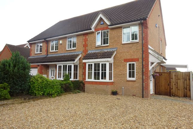 Thumbnail Property to rent in Radcliffe Road, Thorpe Marriott, Norwich