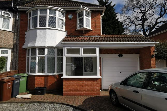 Thumbnail Property to rent in Wells Road, Solihull
