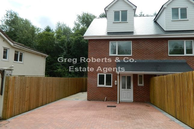 Thumbnail Semi-detached house for sale in Plymouth Arms Cottages, Merthyr Road, Tredegar