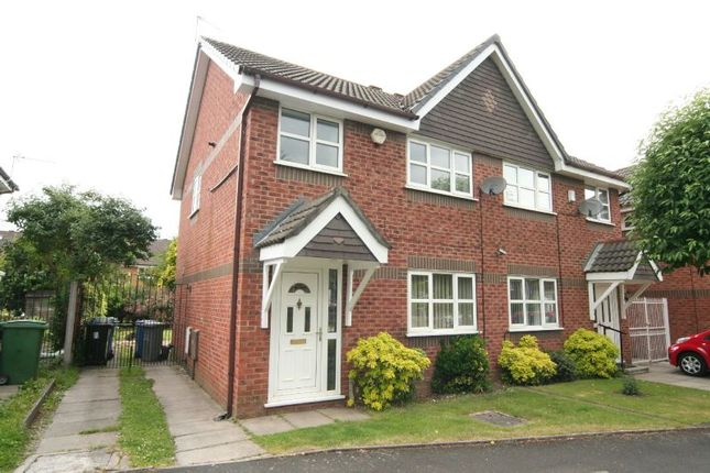 3 bed semi-detached house to rent in Warslow Drive, Sale