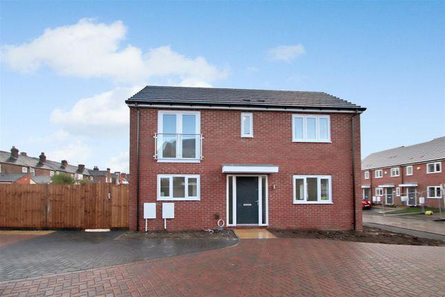 Thumbnail Semi-detached house for sale in The Kea, Victoria Park, Off Boothen Old Road, Stoke