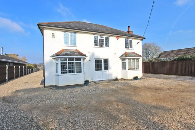 4 bed detached house for sale in Sway Road, Pennington, Lymington