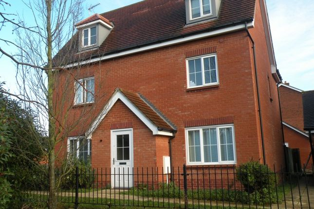 Thumbnail Detached house to rent in Cunningham Avenue, Hatfield