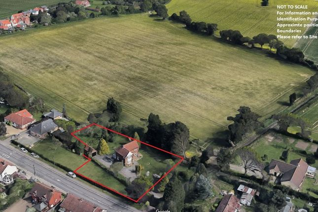 Thumbnail Land for sale in The Heath, Tattingstone, Ipswich