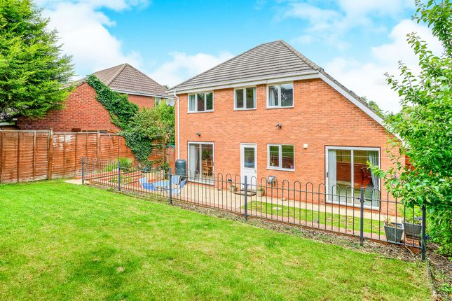 Thumbnail Detached house for sale in Badger Brook Lane, Astwood Bank, Redditch