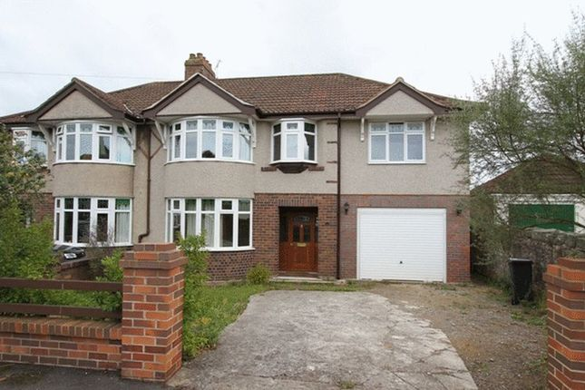 Thumbnail Semi-detached house to rent in Thackeray Road, Clevedon