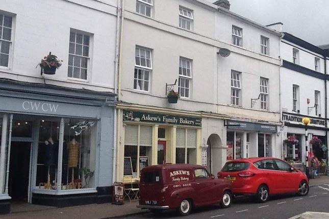 Thumbnail Retail premises for sale in Crickhowell, Powys